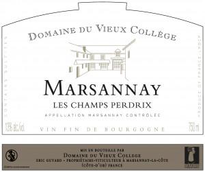 MARSANNAY <br/> LES CHAMPS PERDRIX