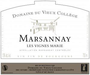 MARSANNAY <br/> LES VIGNES MARIE